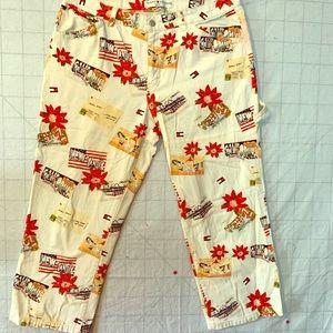 Vintage cropped Tommy Hilfiger pants